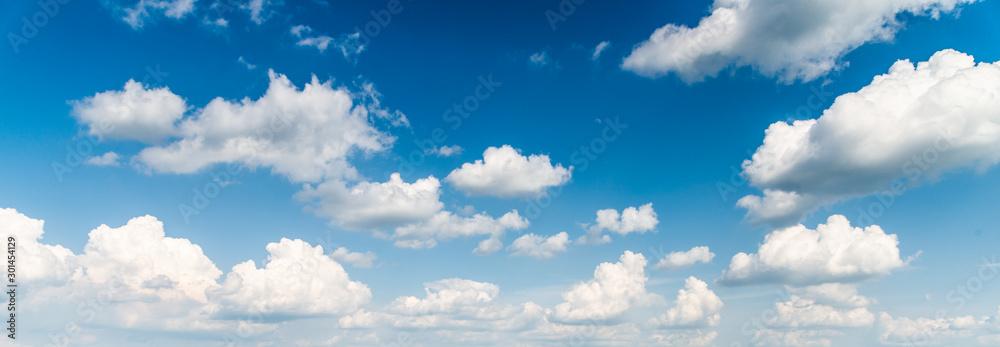 Fototapeta blue sky and clouds background