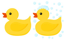 Yellow Rubber Duck Toys For Ba...