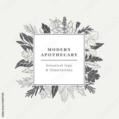 Fényképezés Apothecary Logo