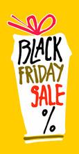 Black Friday Sale. Bright Vert...