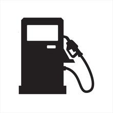 Gasoline Pump Gas Station Icon Vector Design Symbol