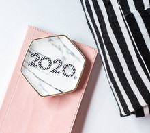 2020 Flat Lay With Pink Journa...