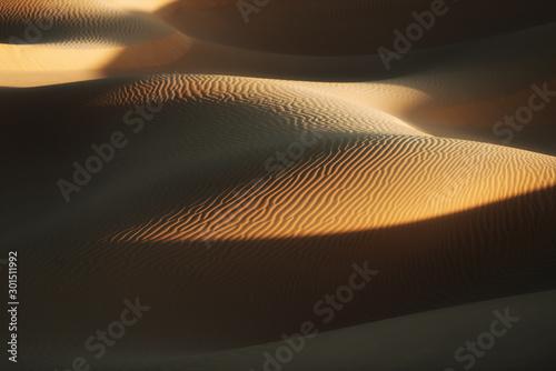 Wallpaper Mural Desert sand dunes in Morocco.