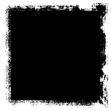 Grunge Background Black Rectan...