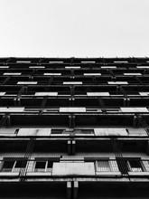 Row Of Windows. Multistory Bui...