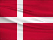 Illustration Of A Waving Flag ...