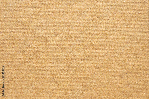 Fotomural Brown eco recycled kraft paper texture cardboard background