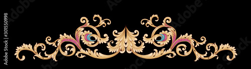 Photo  Decorative elegant luxury design