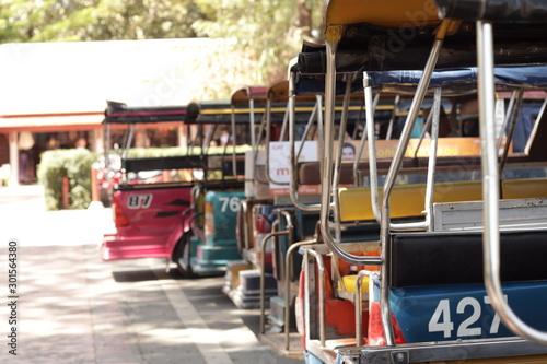 Auto Rickshaws in Thailand