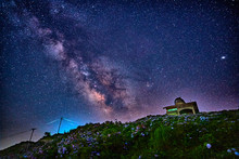 Milky Way And The Observatory ...