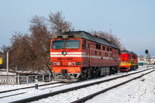 Passenger Locomotive TEP70-056...