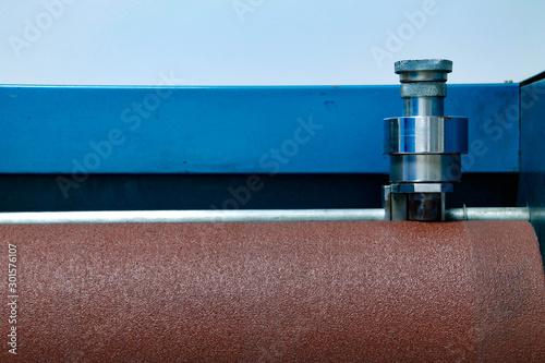 rubber abrasion test machine Canvas Print
