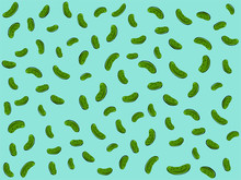 Hand-drawn Abstract Pickle Vec...