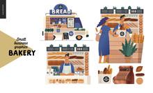 Bakery -small Business Illustr...