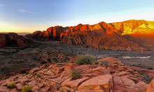 Sunrise Snow Canyon State Park...