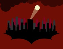 Silhouette Gotham, Dark Gotham...