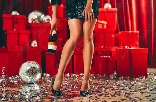 Fotografie, Obraz  New year girls