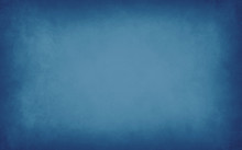 Blue Background With Soft Blur...