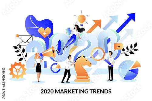 Cuadros en Lienzo Digital marketing trends, strategy, business plan for 2020 year