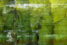 Green Emerald Quartz Gemstone Close Up