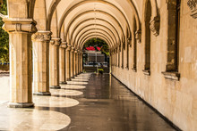 Grand Marble Colonnade With Sh...