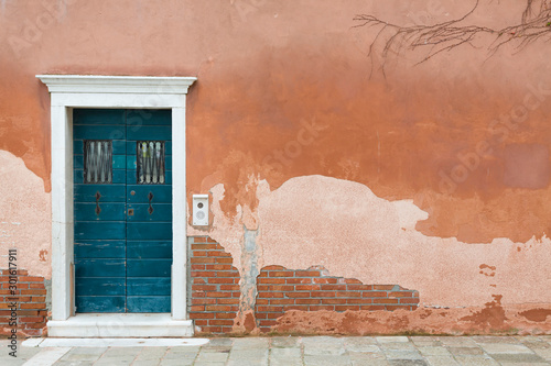 Vintage front door Venice Wallpaper Mural