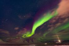 Svalbard Norway Aurora Northern Lights
