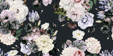 Seamless Floral Pattern With F...