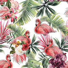 Seamless Floral Pattern With T...