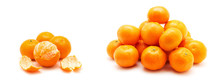 Tangerine Or Mandarin Fruit Is...