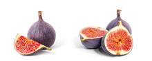 Fig Isolated On White Backgrou...