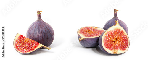 Fig isolated on white background. #301633933