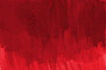 Abstract Red Background In Wat...