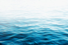 Blue Sea Water Background Text...