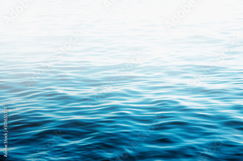 Blue sea water background texture #301635339