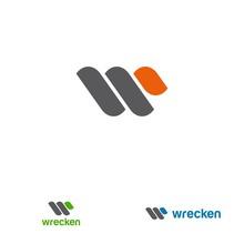 W Letter Design Concept For Bu...
