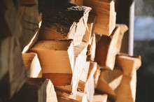 Background Of Dry Lumber For H...