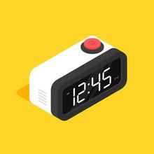 Retro Digital Alarm Clock Isom...