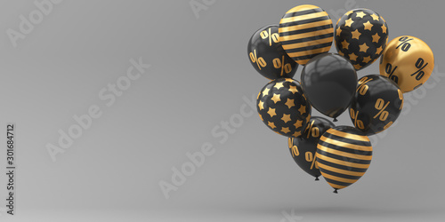 3d render illustration for advertising Canvas Print