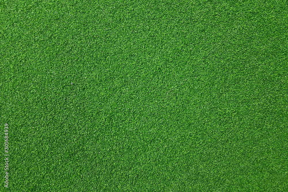 Fototapety, obrazy: Texture of fake green grass for background or backdrop.