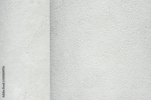 Pinturas sobre lienzo  A solid background of white columns with a fine texture and blurred foreground a