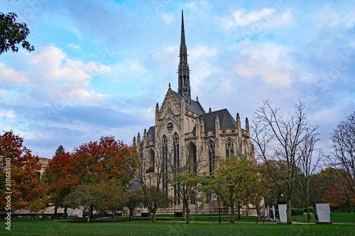 Photo  Heinz Memorial Chapel at the University of Pittsburgh