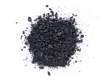 Pile Of Granular Black Activat...