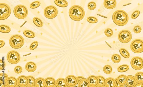 Photo ポイントコインのフレーム