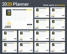 2020 Calendar - Planner