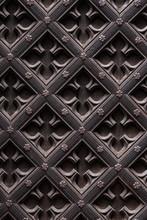 Wooden Door Carving Geometric ...