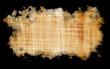 Leinwanddruck Bild -  paper parchment papyrus