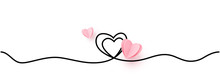 Continuous Line Heart Shape Bo...