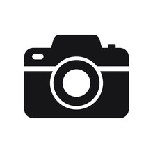 Photo Camera Vector Icon Isolated
