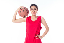 LWTWL0015253 Girl Holading A Basketball